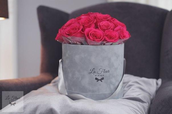 Цветы в шляпных коробках своими руками
